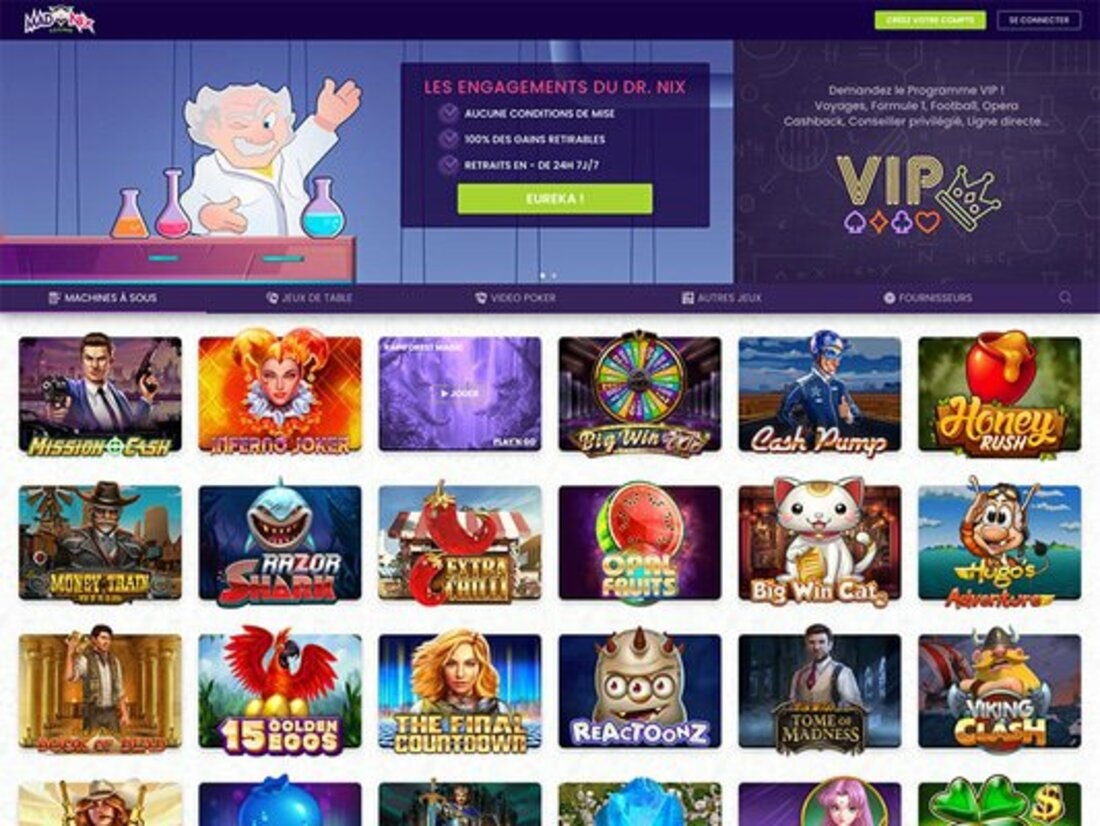 catalogue casinos en ligne